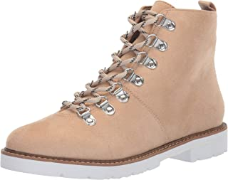 Aerosoles Women's PORTVILLE Combat Boot, Bone Fabric, 10 M US