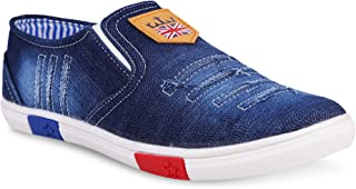 KRAFTER Denim Collection Loafers