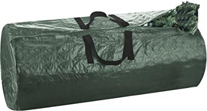 Elf Stor Deluxe Green Holiday Christmas Tree Storage Bag Large, Plastic, Green, 9'