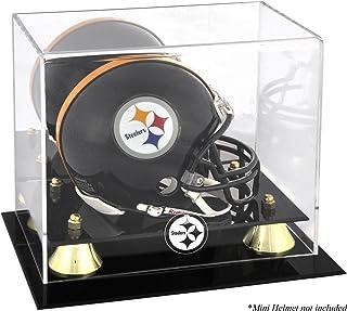 Pittsburgh Steelers Mini Helmet Display Case - Football Mini Helmet Free Standing Display Cases