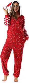 Adult Christmas Onesie for Women Jumpsuit One-Piece Pajamas