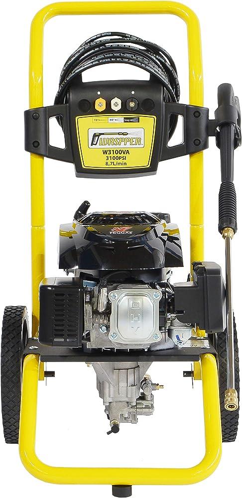? Hidrolimpiadora de motor de gasolina 3100 PSI ? 173cc con potencia de alta presión jet Hidrolimpiadora Profesional W3100VA portátil de alta calidad Limpiadora para autos y patios