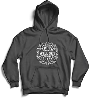 Unisex Hoodie The Truth Will Set You Free - The Proof of Faith - Christian - Resurrection - Nativity, Religious