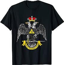 Mens 33rd Degree Mason T Shirt Masonic Tee Scottish Rite Down