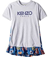 Kenzo Kids - Paris Logo Dress (Big Kids)