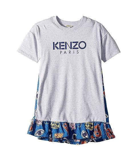 Kenzo Kids Paris Logo Dress (Big Kids)