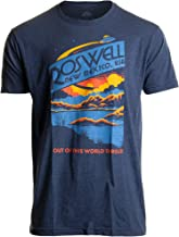 Roswell, NM Tourism   Funny Alien Extraterrestrial UFO Saucer Men Women T-Shirt