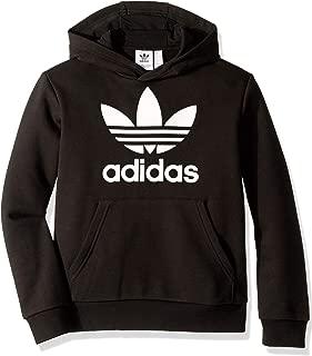 adidas trefoil hoodie boys