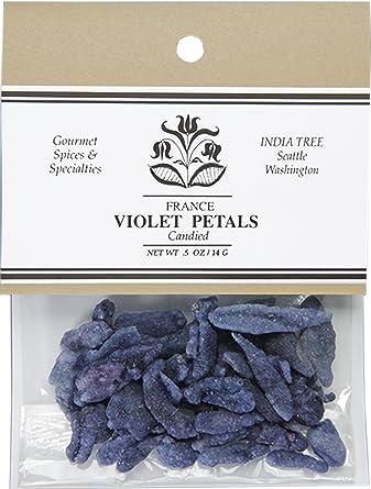 印度 Tree candied 紫罗兰色花瓣,14.2gram