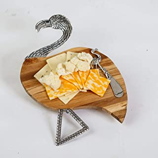 flamingo cheese board