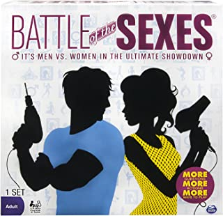 Battle of the Sexes Adult Board Game - Funny Card Games for Adults - Trivia Game Pitting the Men Against the Women - Great for Parties and Couples' Night - 2 or More Players - Ages 16 and Up
