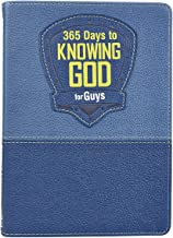 365 Days to Knowing God for Guys (LuxLeather)