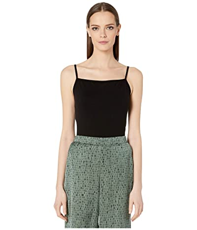 Eileen Fisher Fine Tencel Jersey Stretch Cami (Black) Women