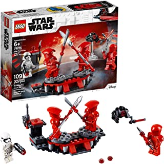 Lego Star Wars: The Last Jedi Elite Praetorian Guard Battle Pack 75225 Building Kit , New 2019 (109 Piece)
