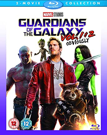 Guardians of the Galaxy Vol 1 & 2 2 Film Collection  UK