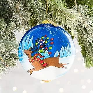 Pier 1 Imports Li Bien Leaping Reindeer Christmas Ornament 2018