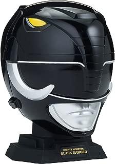 Power Rangers Legacy Mighty Morphin Black Ranger Helmet Display Set