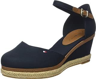 Tommy Hilfiger Kadın Iconic Elba Basic Closed Toe Moda Ayakkabı FW0FW02838