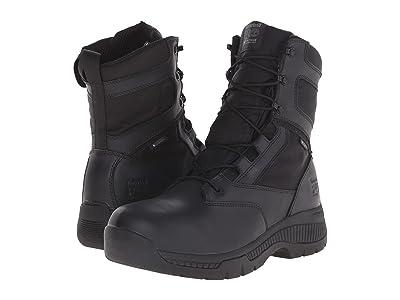 Timberland PRO 8 Valortm Duty Soft Toe Waterproof Side-Zip (Black) Men