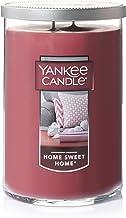 شمع Yankee شمع بزرگ 2 حصیری ، خانه شیرین