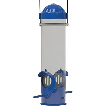 Perky-Pet Mealworm Bird Feeder,Blue