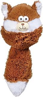 Zanies Funny Furry Fatty Pet Dog Toy, Squirrel