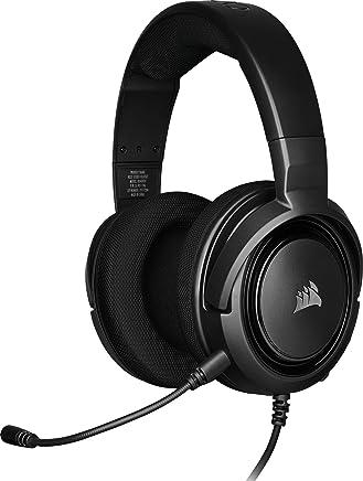Corsair HS35 Stereo Cuffie Gaming con Microfono Unidirezionale Rimovibile, Altoparlanti in Neodimio da 50 mm, Compatibili con PC, Xbox One, PS4, Nintendo Switch e dispositivi Mobile, Carbonio - Trova i prezzi più bassi