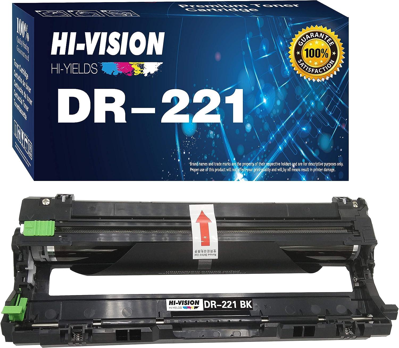 1-Pack HI-Vision Compatible DR221 DR221CL DR-221CL Drum Unit for HL-3140CW HL-3150CDN HL-3170CDW HL-3180CDW MFC-9130CW MFC-9140CDN MFC-9330CDW MFC-9340CDW DCP-9015CDW DCP-9020CDN Printer