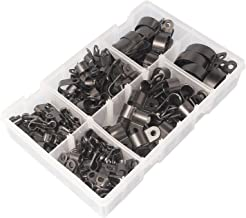 Clip De Cable Redondo 6Mm Blanco 10 X Caja De 100 Unifix V44180