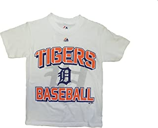 Detroit Tigers Youth White Team Graphic T-Shirt