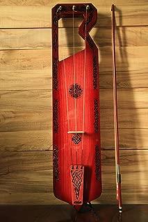 Tagelharpa King Ragnar Lothbrok. Concert quality. Celtic Lyre Harp. Talharpa. Bowed Lyre .Original handmade.Gift for him.