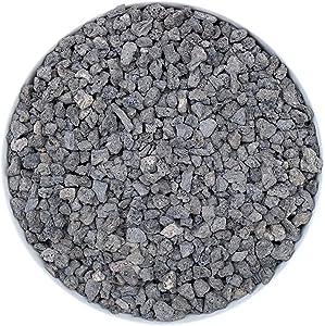 Boniosz 2.5lb Black Horticultural Lava Rock Soil Additive for Cacti, Vase Fillers, Succulents and Terrarium Plants - No Dyes or Chemicals - 100% Pure Volcanic Rock