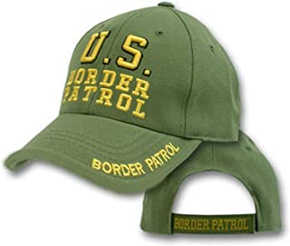 Infinity Superstore Embroidered Green US Border Patrol Military Hat Ball Cap