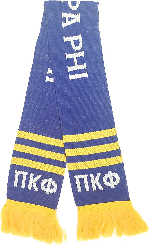 Pi Kappa Phi Fraternity Letter Winter Scarf Greek Cold Weather Winter Pi Kapp