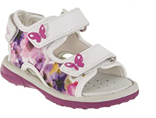 US Customer Support Shipped from US Warehouse Imported from Italy PAK 33789 Summer and Spring Primigi Leather Rose Sandals for Girls