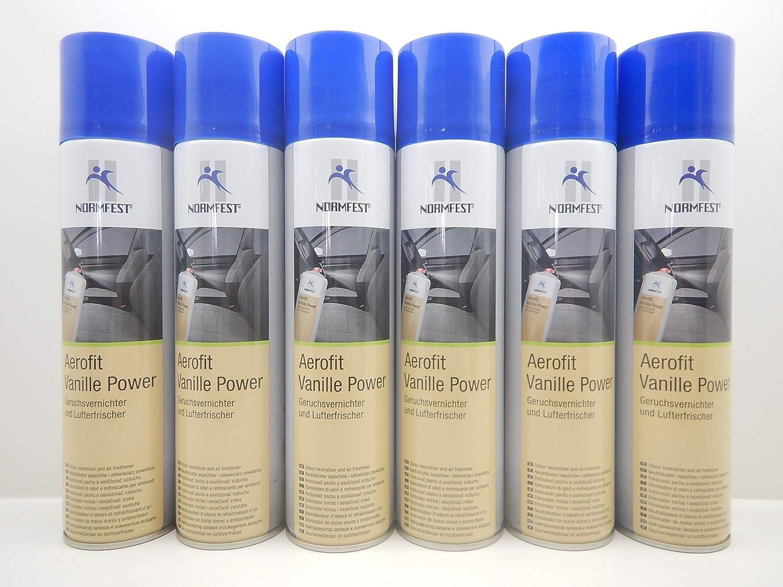 Normfest Aerofit Vanille Power Geruchsvernichter Lufterfrischer Erfrischer 6 Auto