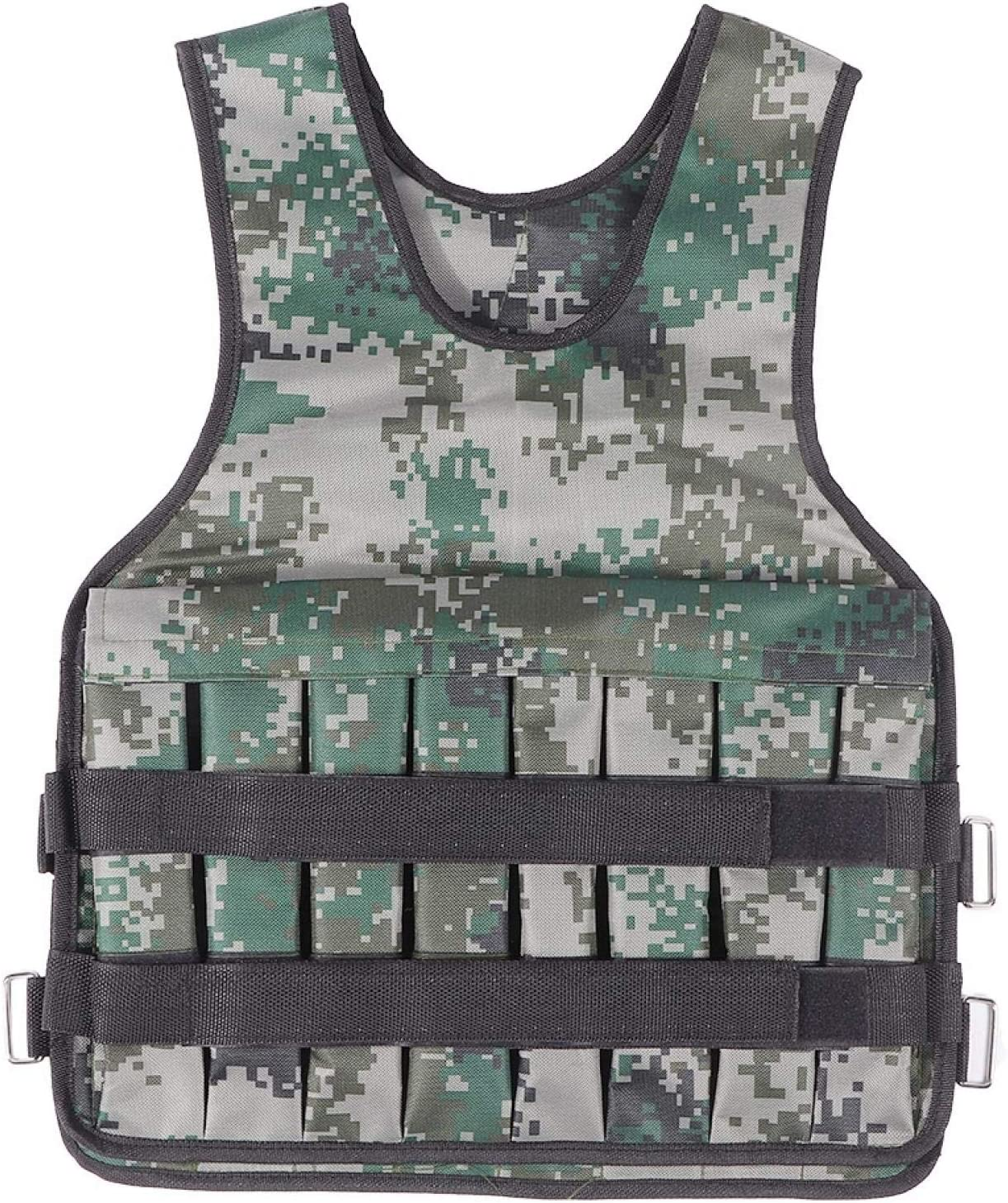 Exercise Vest 600D Now free shipping Over item handling ☆ Coated Fabric Weighted for Exe Fitness