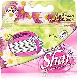 Soft Touch™ 6 Blade Razor System for Women Cartridges (Dorco Shai)(LSXA1040)