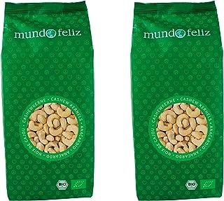 comprar comparacion Mundo Feliz - Anacardos ecológicos enteros, 2 bolsas de 500g