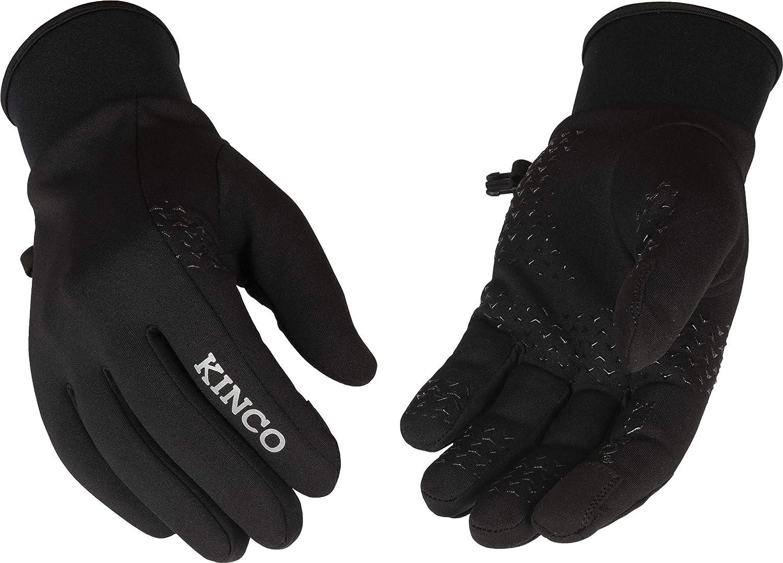 Kinco - Lightweight Softstretch Fleece Glove, Touchscreen Winter Gloves