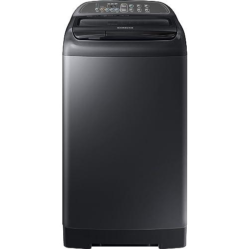 Samsung 7 kg Fully-Automatic Top Loading Washing Machine (WA70M4400HV/TL, Black)