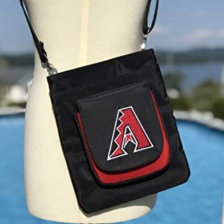 Charm14 MLB Traveler Crossbody Bag womens- Embroidered Logo