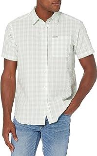 Columbia Men's Brentyn Trail Short Sleeve Seersucker Shirt Button