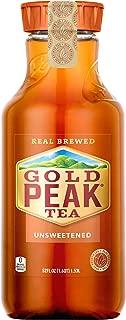 Gold Peak Unsweetened Black Iced Tea Drink, 52 fl oz