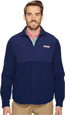 Vineyard Vines - Shirt Jacket Snap Fleece