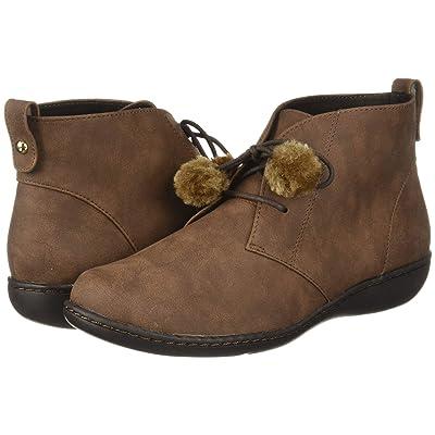 Soft Style Jinger (Brown Nubuck) Women