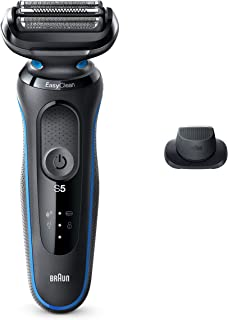 Braun Electric Razor for Men, Series 5 5018s Electric Shaver with Precision Trimmer,...