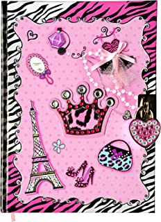 SMITCO Diary with Lock for Girls – 5 to 14 Year Old Girl Birthday Gifts –..