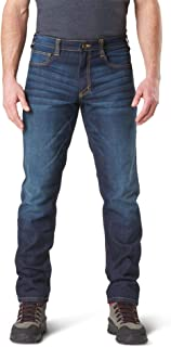Tactical Men's Defender-Flex Slim Work Jeans, Patch Pockets, Fitted Waistband, Style 74465