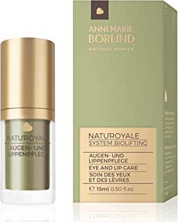 ANNEMARIE BÖRLIND – NATUROYALE Eye & Lip Cream – Sustainably Sourced Natural Anti-Aging Eye & Lip Cream For a Fresher, Smoother and Tighter Skin With a New, Youthful Glow – Step 5 of 5 – 0.5 oz.